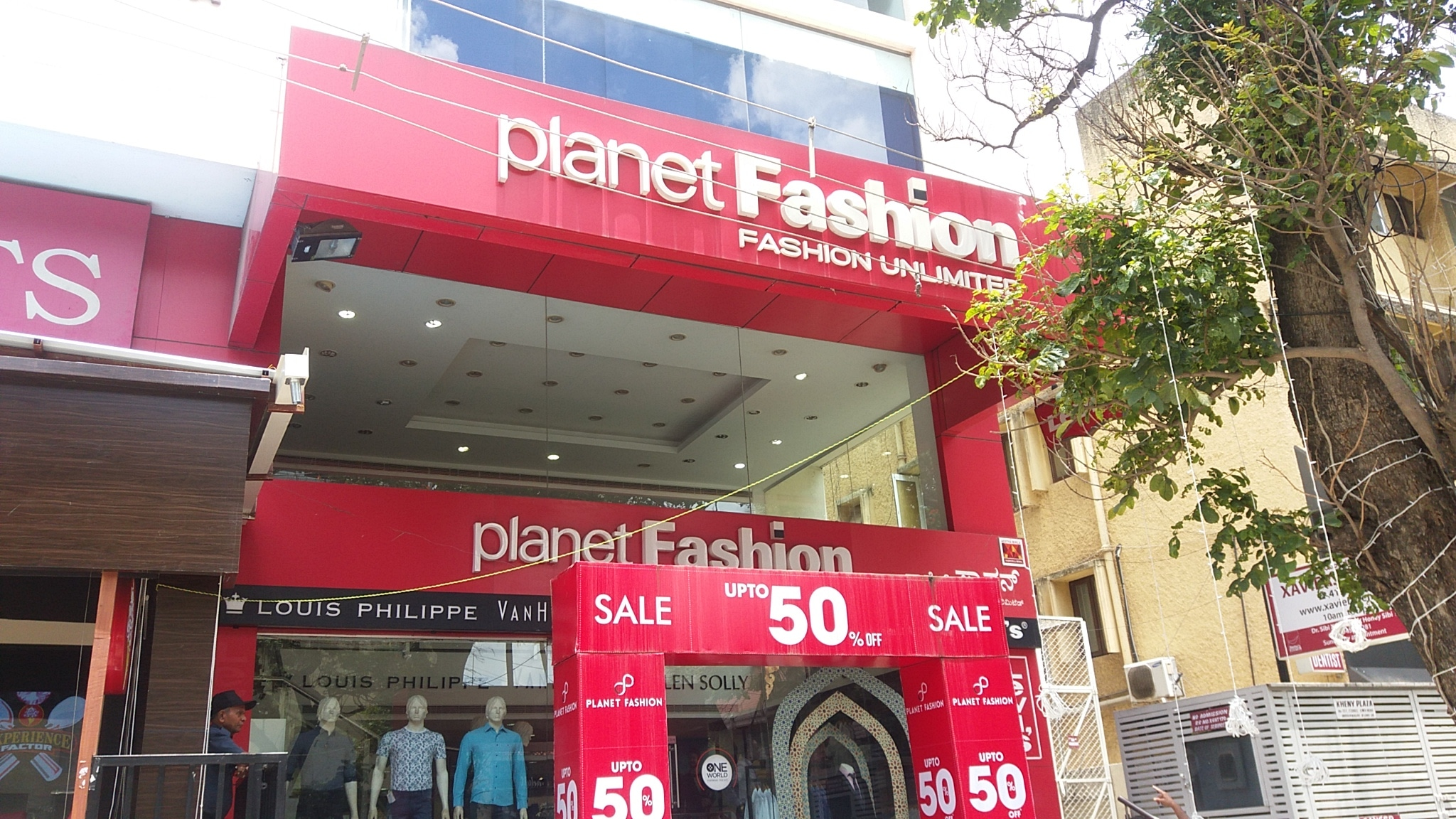 Exterior ACP Sign board personalized for popular Fashion store in Chennai
