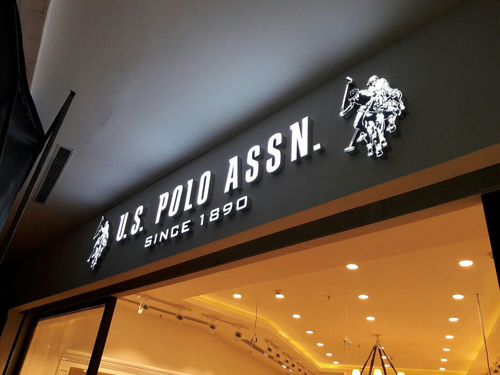 Indoor ACP name board design for clothing store in Chennai