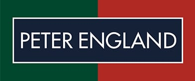 Official logo of Peter England clothing store