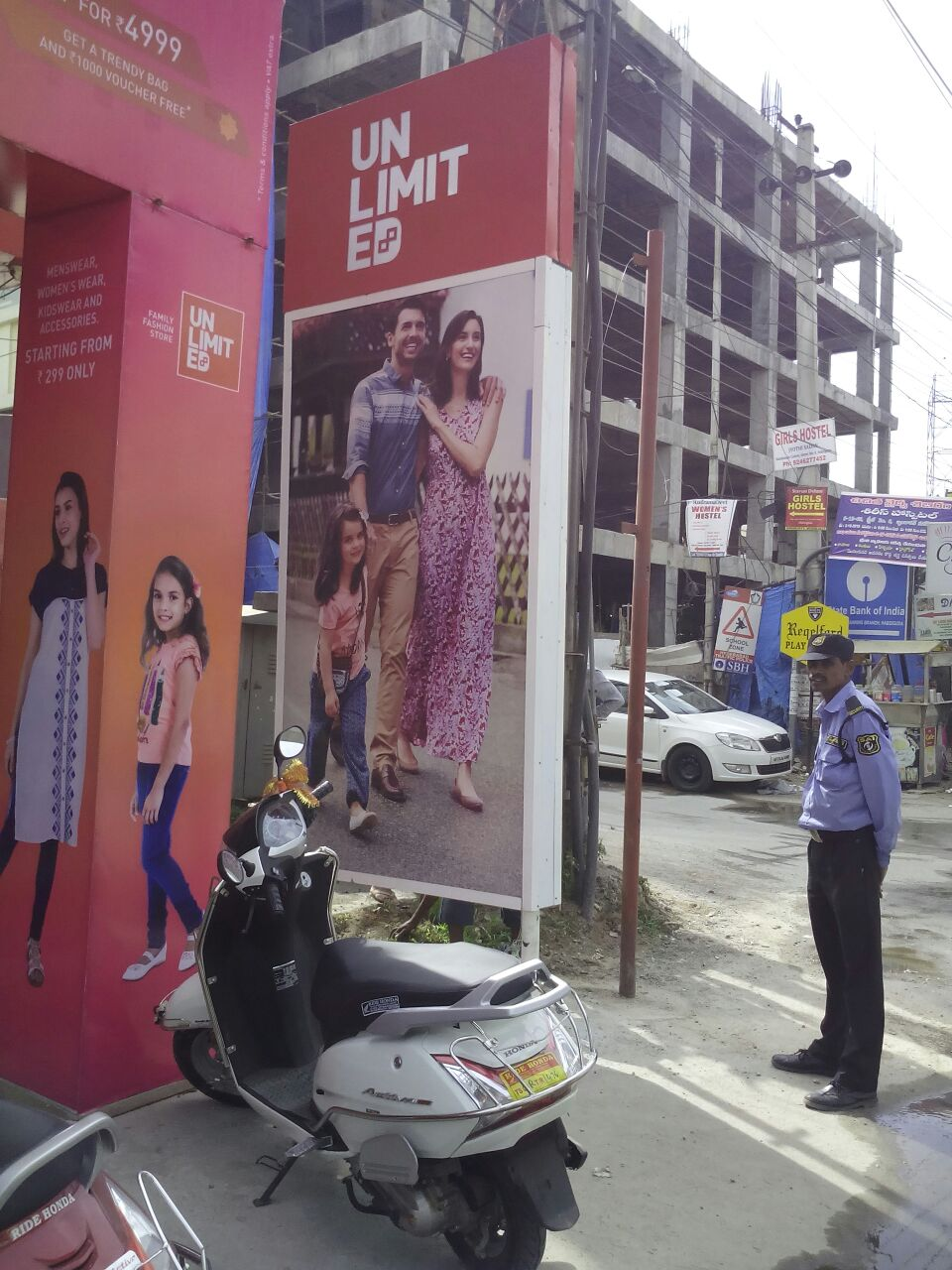 Outdoor ACP Board for Fashion store in Chennai