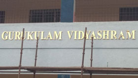 Radiant Metallic Brass mould letters for School in Chennai